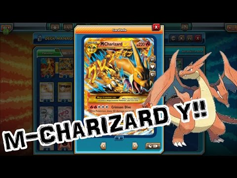 Mega Charizard Y! Pokemon Trading Card Game Online