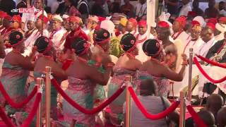 Oba of Benin Coronation pt2
