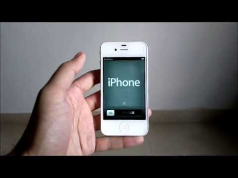 iPhone 4 with iOS 6.1.3 - First Start Experience & iCloud Restore