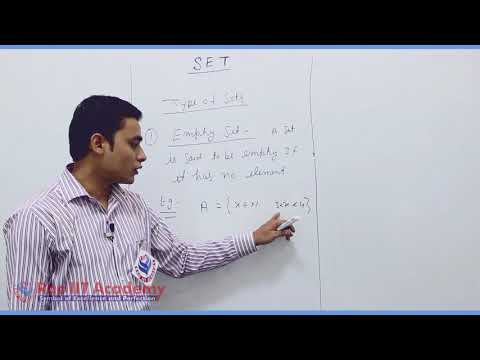 Set Relation Function Maths Part-1 std 11th HSC Board Video Lecture BY Rao IIT