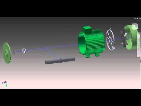 Permanent magnet DC motor 2,2 kW inventor