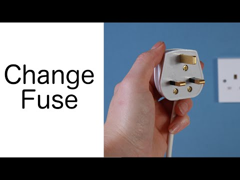 How To Change A Fuse In A Plug