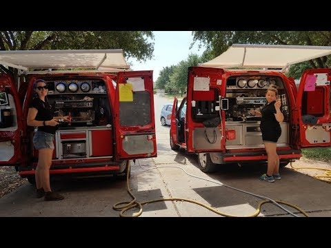 Coffee Truck for Sale! Espresso food truck classified ad see link