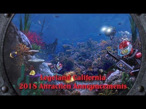 Legoland California 2018 Announcements (HD)