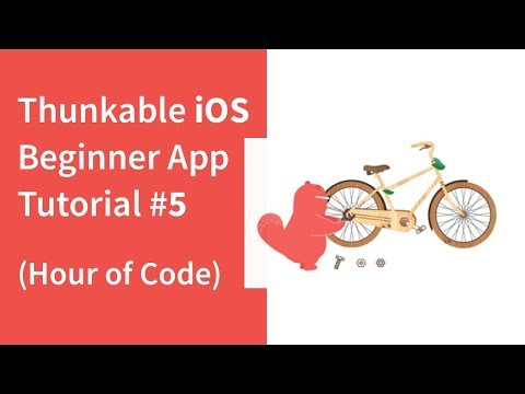 Thunkable iOS Beginner App Tutorial #5
