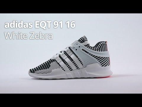 adidas EQT ADV White Zebra 91/16 - Unboxing, Review & Sizing