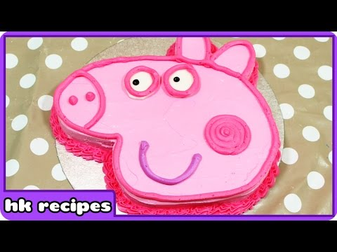 Peppa Pig Birthday Cake | DIY Quick and Easy Recipes : Fun Food for Kids | Cooking for Children