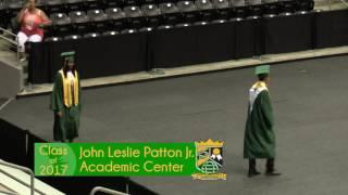 John Leslie Patton Jr. Academic Center - 2017 Graduation