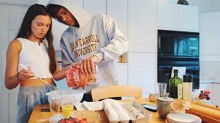 making pancakes in the hamptons