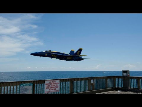 Blue Angels Fort Pickens Pensacola Florida