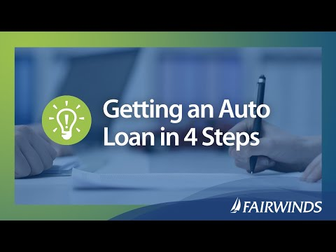 Getting an Auto Loan in 4 Steps | FAIRWINDS Credit Union
