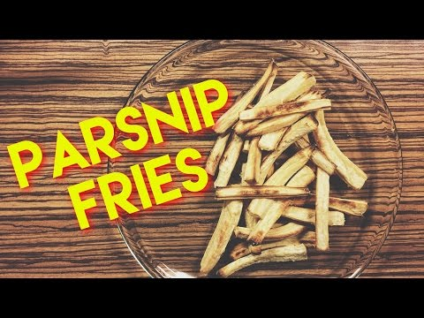 How To Make Parsnip Fries? | Simple parsnip fries recipe that anyone can do!