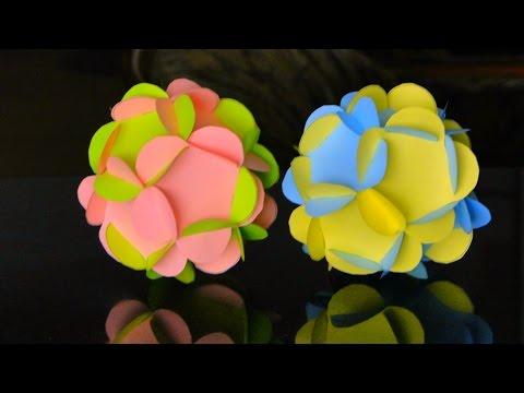 3D Paper Flower Ball Ornament