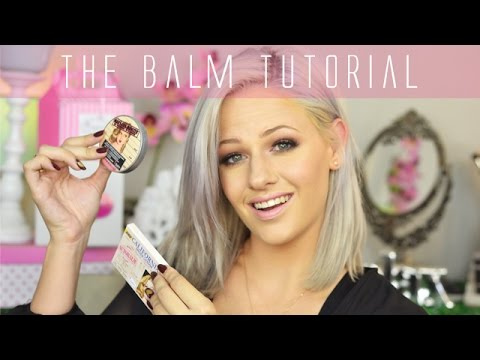 The Balm Natural Makeup Tutorial | Retail Box GIVEAWAY