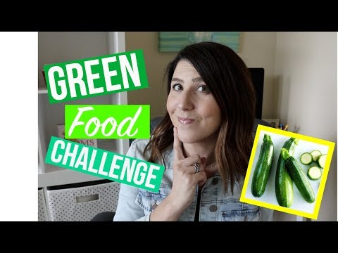 Green Food Challenge | How to get your toddler to eat Veggies!!