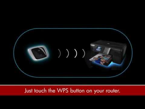 HP PHOTOSMART WPS Wireless Setup