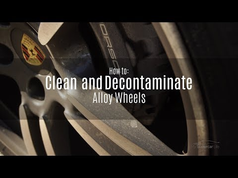 How to Super Clean, Decontaminate and Protect your cars wheels.