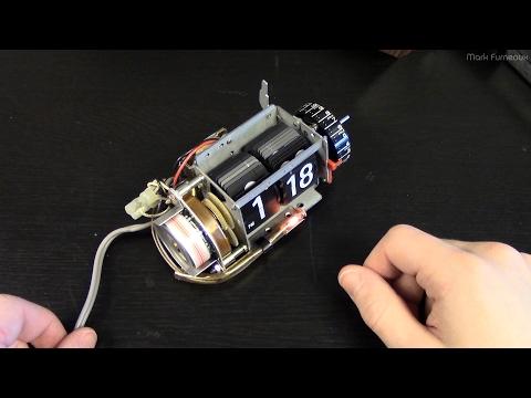 Replacing the Neon in My Copal 227 Flip Clock