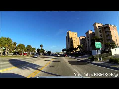 Driving Treasure Island, Florida