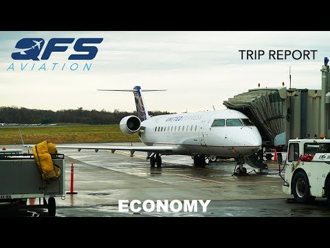 TRIP REPORT | United Airlines - CRJ 200 - Chicago (ORD) to White Plains (HPN) | Economy