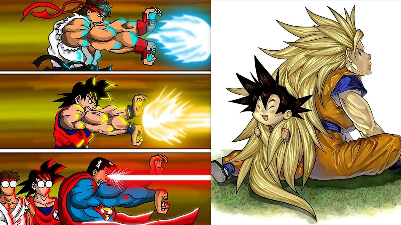 """30+ """"DRAGON BALL Z"""" SPECIAL FUNNY COMICS. Watch Till The End."""