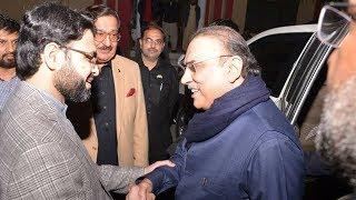 Asif Ali Zardari Reached Minhaj-ul-Quran International Secteriat Lahore