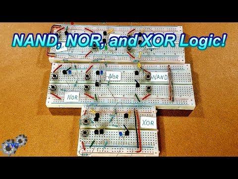 TWT #19: NAND, NOR, and XOR Logic Gates