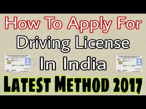 (Hindi) How To Apply For Driving License Online In India + How To Book Slot 2017 Latest