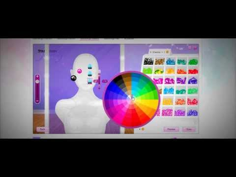 Stardoll Jewelry- How to make Contact Lenses