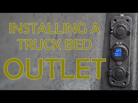 12V Truck Bed OUTLETS - Installation Guide