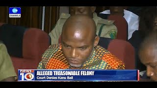 News@10: Court Denies Nnamdi Kanu Bail 29/01/16 Prt.1