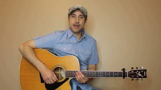 Break Up In The End - Cole Swindell - Guitar Lesson | Tutorial