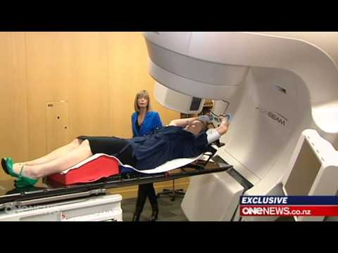 Eliminating painful side effect of radiation therapy