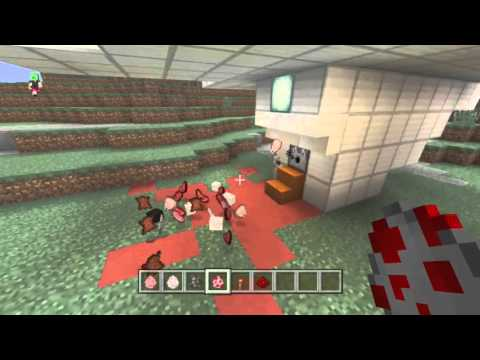 The meat grinder! Minecraft Xbox One edition