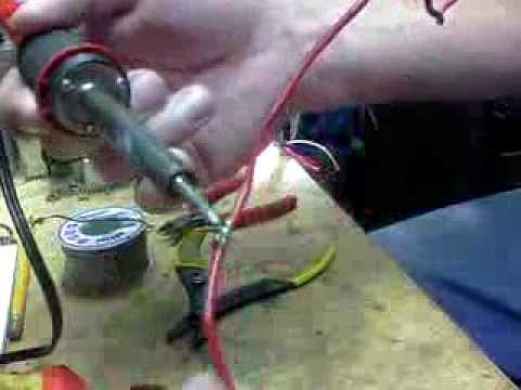 Soldering Wires: Quick and Dirty