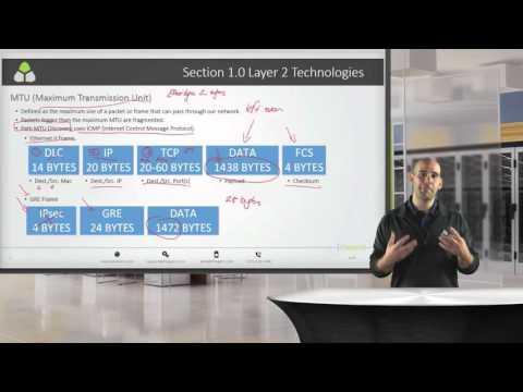 CCIE R&S Lab VOD Training on the V5 Blueprint topic: MTU