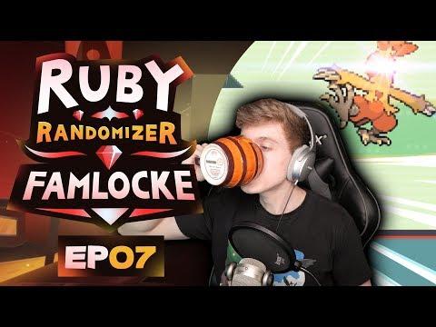 FINALLY A FIRE TYPE!! | Pokemon Ruby Randomizer Famlocke EP 7