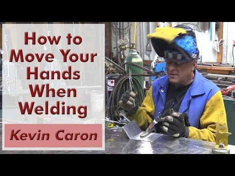 How to Move Your Hands When TIG Welding - Kevin Caron