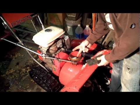 Modify Snowblower to never clog and throw twice as far w/ Impeller Kit