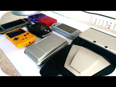 Ultimate Console Comparison (2014-2015) PS Vita 3DS XL DS GBA SP GBC Nvidia Shield PSP VS