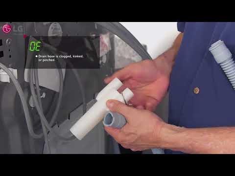 How to fix pedestal washer - Error Codes  - Washing Machine LG