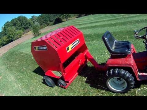 Steiner lawn Sweeper Part 2