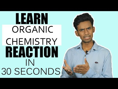 SUPER TRICK TO LEARN ORGANIC CHEMISTRY REACTIONS | WILLIAMSON SYNTHESIS