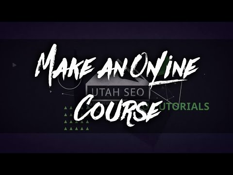 How to Create an Online Course | Advanced Weebly Tips with Triston