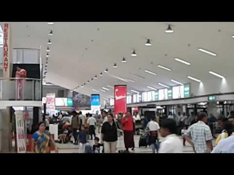 Beautifull Guwahati Airport Departure Lounge