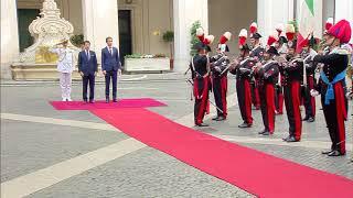 Il Presidente Conte riceve il Cancelliere Kurz