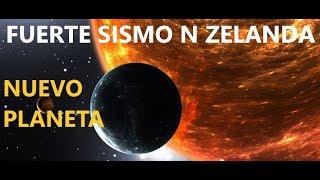 Terremoto Nueva zelanda 7.0 / Descubren Gigantesco Planeta