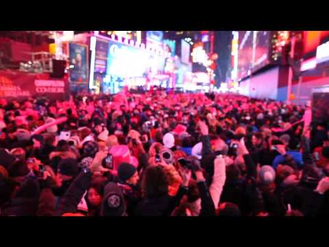 New Years 2015 from Time Square New York