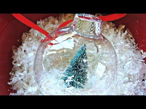 Winter Wonderland SNOW GLOBE ornament