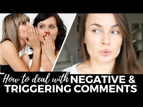 How to Deal With Negative Comments & Judgemental People in Eating Disorder Recovery (10 tips!)